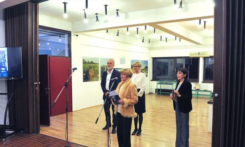 Отварање изложбе Моме Капора