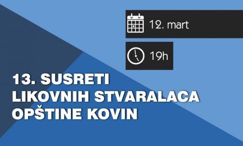 13. susret likovnih stvaralaca opštine Kovin