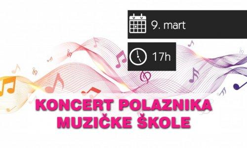 Koncert polaznika muzičke škole