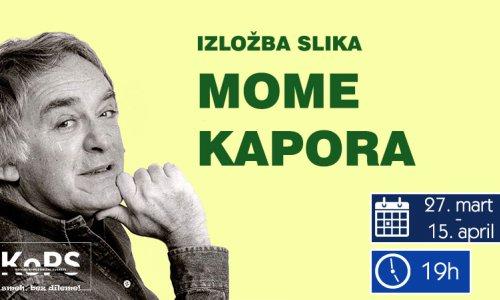 Izložba slika Mome Kapora