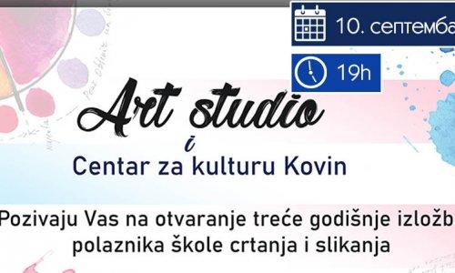 АРТ Студио - годишња изложба полазника школе цртања и сликања