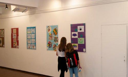 Отварање изложбе дечијих радова